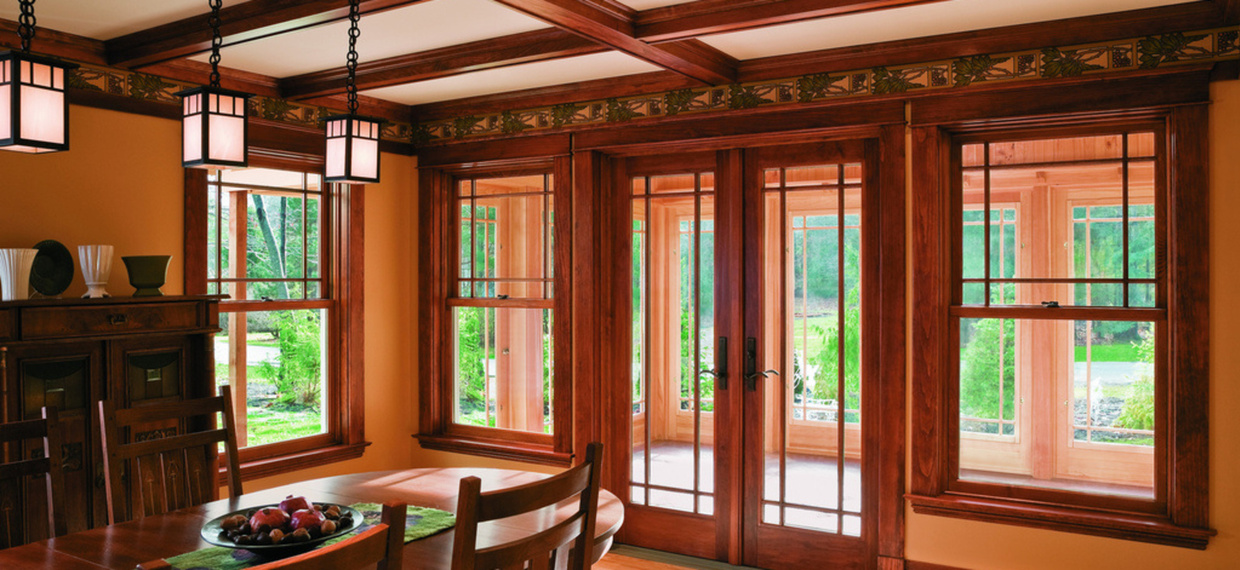 Wood Patio Door in Sioux Falls, South Dakota
